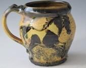 Large mug with paint horses