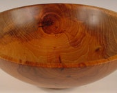 Texas Spalted Pecan Wood Bowl Turned Wooden Bowl number 5665