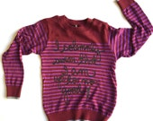 "SALE Toddler Size 6. Harry Potter Kids Sweater ""I solemnly swear that i am up to no good"". Ready To Ship"