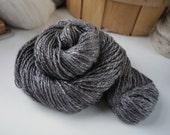 Handspun DK Weight Yarn, Natural, Undyed Handspun Yak /Silk Yarn (50/50), DK Weight, 240 Yards, Undyed