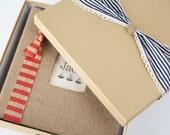 Keepsake Box - Baby Memory Book Addition, Nautical