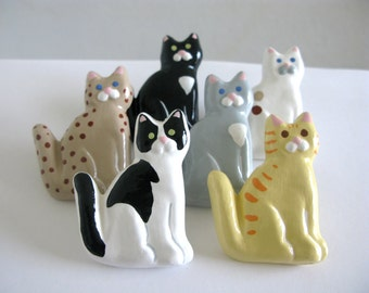Cat Drawer Knobs
