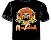 """Mac Sabbath """"Sandwich Bloody Sandwich"""" T-shirt (men's sizes)"""