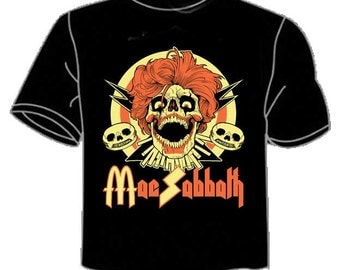 "Mac Sabbath ""Sandwich Bloody Sandwich"" T-shirt (men's sizes)"