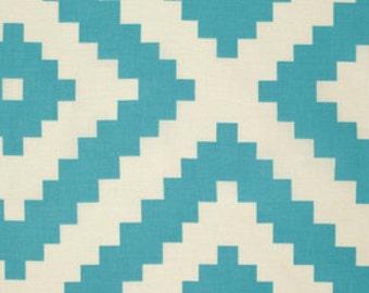 Tribal Fabric, Boho Fabric, Flora fabric by Joel Dewberry, Fabric Shoppe Modern Fabric- Diamonte in Eucalyptus- Cotton Fabric by the yard