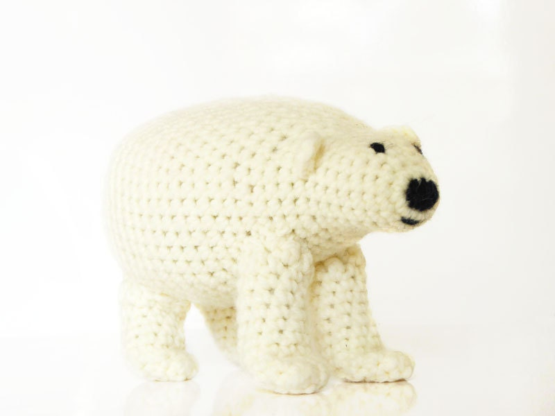 Polar Bear Amigurumi Pattern Polar Bear Crochet Pattern