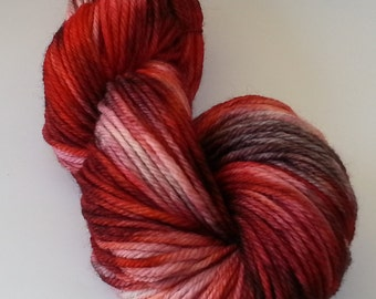 Highland Bulky - Peruvian Wool - Blood and Ashes