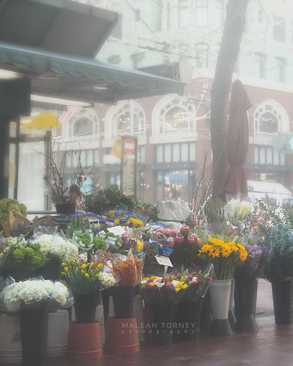 Items Similar To Flower Shop, San Francisco Photography