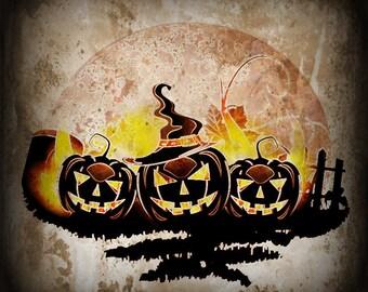 Calabaza en el Fuego - Halloween Samhain Autumn Perfume Oil - Amber Vanilla Roasted Pumpkin Ginger Nutmeg Cream Honey Coffee