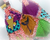 Handmade Rag Purse  ~A Little Bit of Up Town Funk~