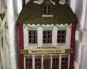 Dept 56 Dickens Village Victorian England Fezziwigs Warehouse 1986 Retired
