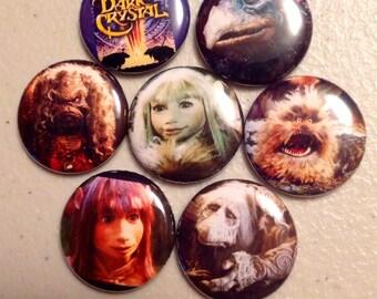 7 Dark Crystal Buttons