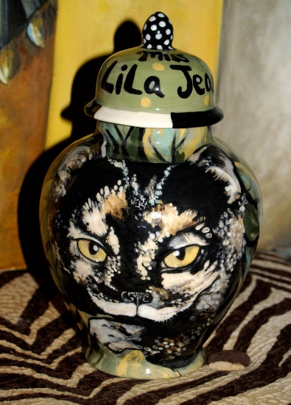 Custom small medium PET URN for dogs and cats SMALL tortoise calico cat kitty or any smaller breed