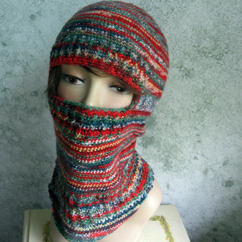 Ski Mask Knitting Pattern : Crochet Ski Mask Pattern Swedish Balaclavas Adult Womens And