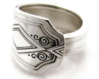 Spoon Ring Oxford Art Deco