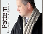 Reversible Cable Scarf - Crochet Pattern (PDF) - INSTANT DOWNLOAD
