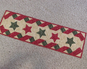 Stars and Ribbons Tablerunner - CLEARANCE