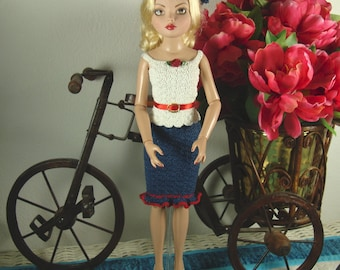 16 inch fashion doll crocheted outfit