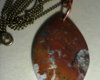 Crystal Healing  Boulder Opal Amulet of Hope