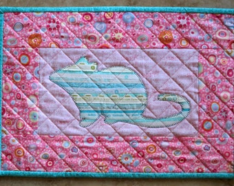 MOUSE Mini Selvage Quilt Collection from Quilts by Elena Wall Hanging Table Topper Selvages