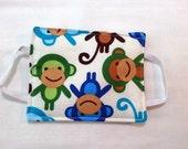 Door Husher for Babies Room - Monkeys