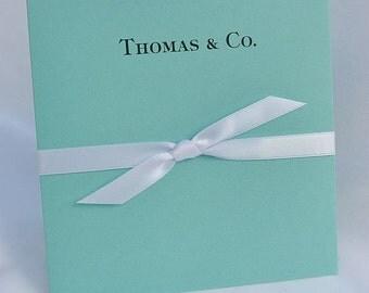 Wedding Favors - Aqua Blue Wedding | Aqua Blue Party Favors | Lottery Ticket Favor | CD Holders | Favors for Tiffany | Wedding Favors Aqua