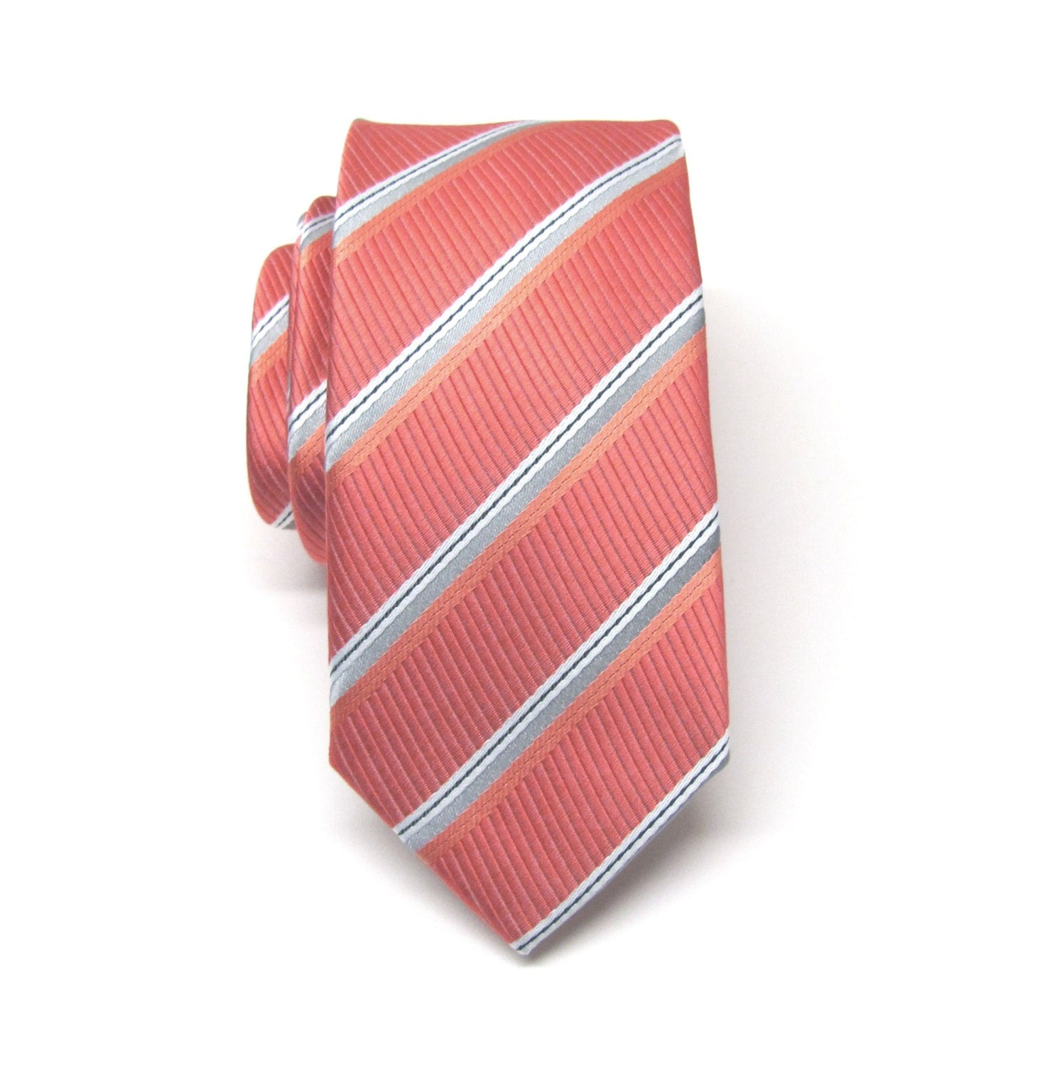 Free shipping available. The Tie Bar's wedding collection offers the perfect coral tie or accessory for your big day.