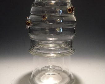 Large Bee Hive Votive Holder