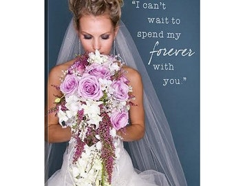 Cotton Anniversary Gift Wedding Gift First Dance Lyrics/ Custom Canvas / Your Wedding Photo with your Lyrics/ Vows/ Love Story