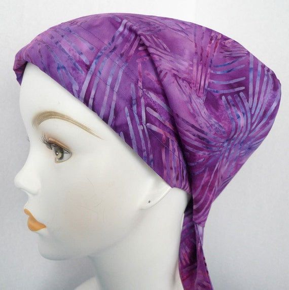 how to make a head scarf out of fabric