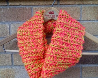 Crocheted Infinity/ Cowl Scarf