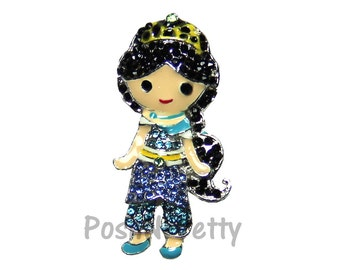 NEW 1.25 inches ONE Character Sparkle Flat back Center - BLINGED