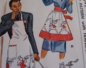 mccall apron pattern 1319