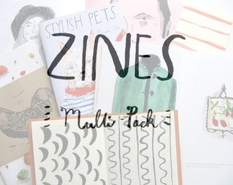 Zines, multi pack