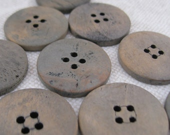 Large Grey Blue Ugg Buttons
