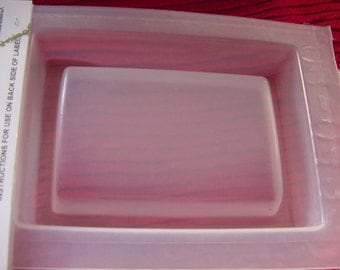 Resin Mold Domed Top Rectangle Base Paperweight  #432