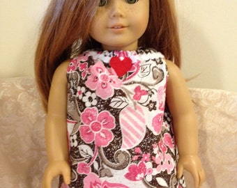 "18"" American Girl Doll Pink Glitter Shirt Pants Clothes Outfit"