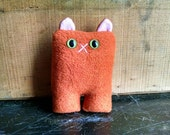 Orange Cat Nubbin - Made To Order