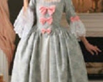 Marie Antoinette gown made to order choice of color size 04-10
