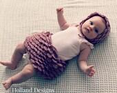 Download Now - CROCHET PATTERN Rose Petal Pettiskirt - Baby to 5 Years - Pattern PDF