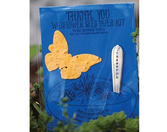 Terrarium - Thank You Wildflower Seed Paper Kit (E0433)