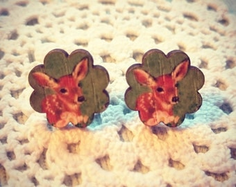 Hello My Deer Bambi Earrings