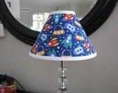 Lamp Shade Rocket ship Space