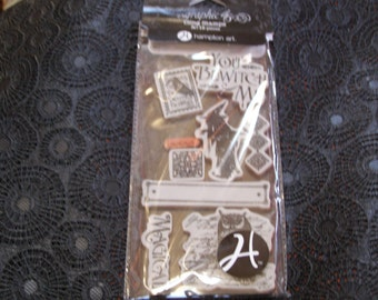 A Grim Fairytale 2 from Graphic 45 Hampton Art - foam cling mounted cling rubber stamps 9 pieces