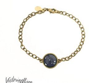Personalized Jewelry Constellation Bracelet, Custom Zodiac  Choose your Constellations, Astronomy, Birthday, Family Bracelet