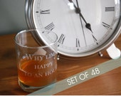 FORTY EIGHT Personalized Engraved Glasses