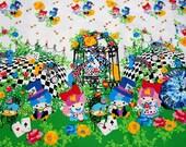 1 meter Twin Little Stars Kiki print by Kayo Horaguchi Alice in Wonderland Adventure theme A10