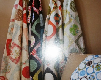 Dot Party Multi-Sized Quilt Pattern by Jaybird Quilts-FREE US SHIPPING!