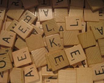 SALE!!  Scrabble® Tiles Individual Letters