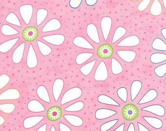 1 Yard Moda Bandana Pink Flower Child Yardage SKU# 22240-16